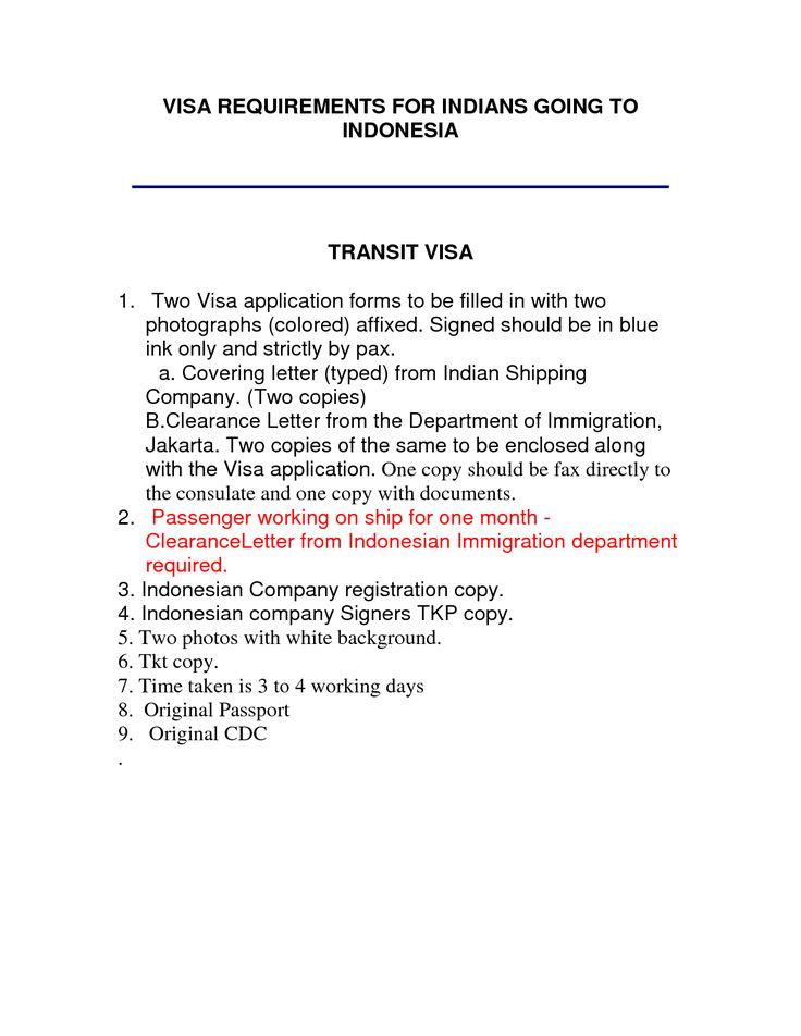 Singapore Visa Covering Letter Sample Cover For Business Visavisa