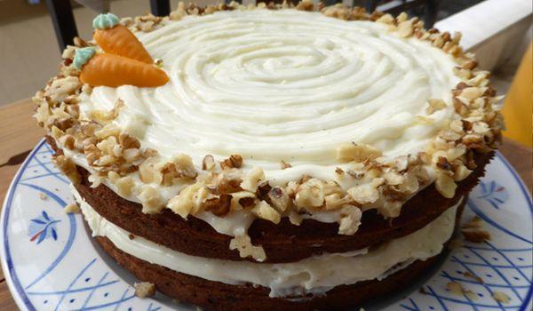 Το κάροτ κέικ στην κουζίνα μου