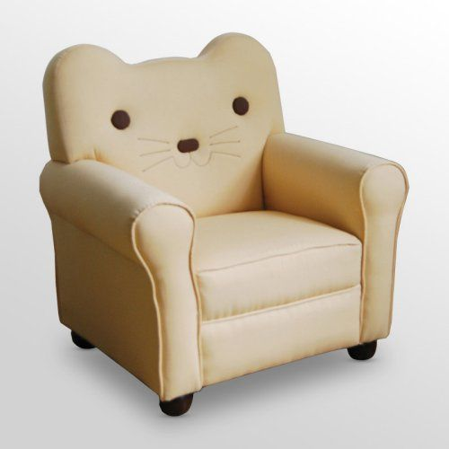 Superb Kitty Yellow Cat Youth Chair
