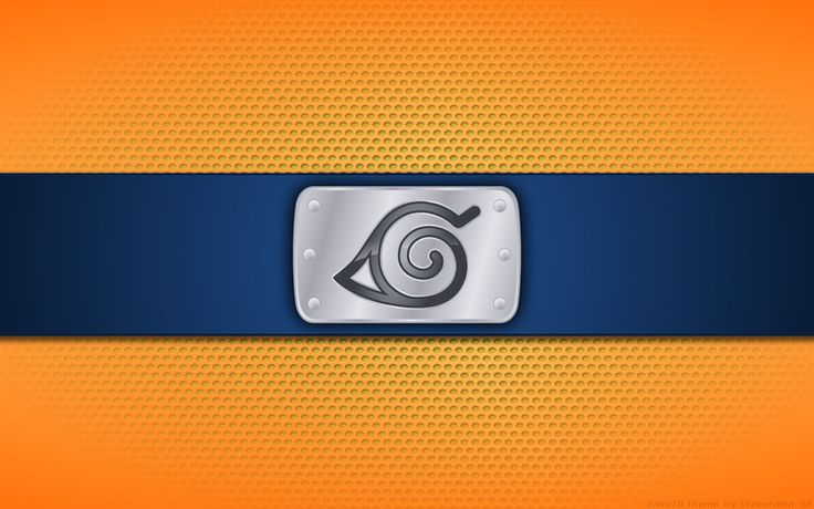Wallpaper - Konoha 'Classic Naruto Theme' Logo by Kalangozilla on DeviantArt