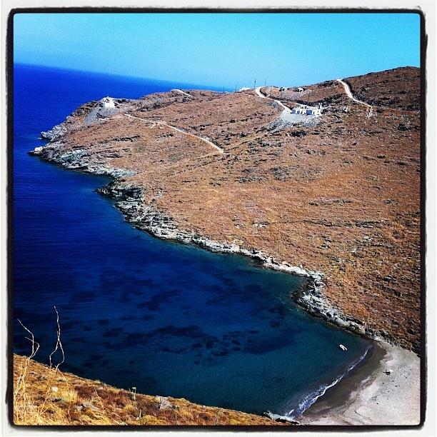 Kythnos island.