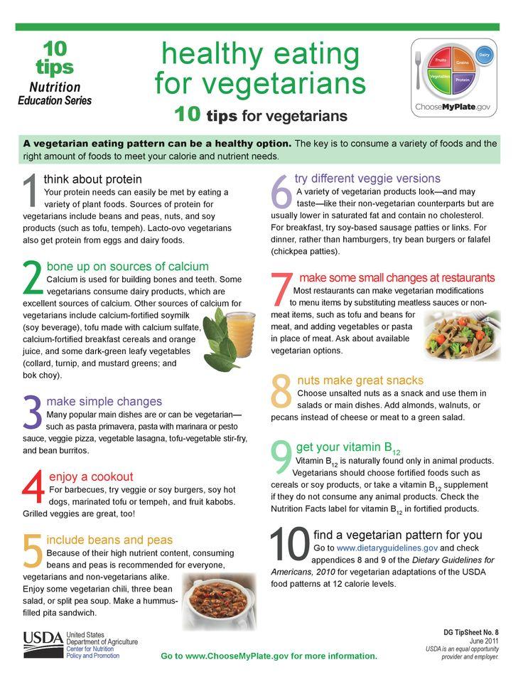 10 tips for VEGETARIANS!