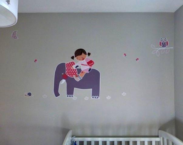 Mejores 40 im genes de murales infantiles paint walls - Habitaciones infantiles barcelona ...