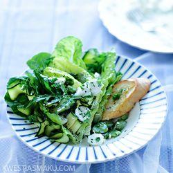 Bób. Przepis na sałatkę z bobem.Bobs, Creamy Mozzarella, Mozzarella Salad