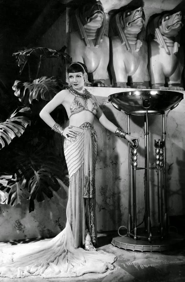 """Claudette Colbert in """"Cleopatra"""" (1934)"""
