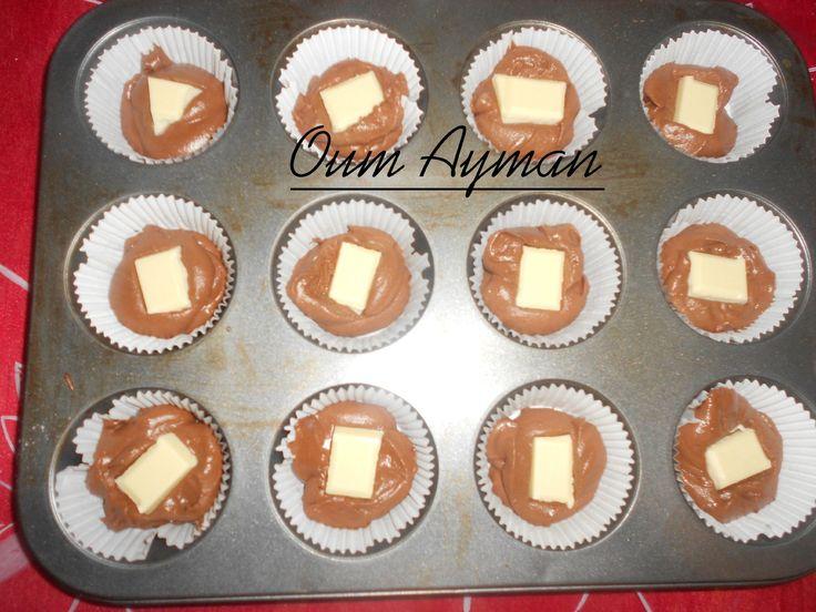 cupcake coeur chocolat blanc - Recherche Google