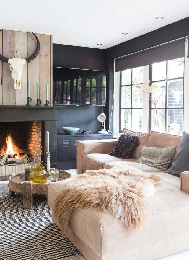 9 Room With Black Walls | Apartment Therapy
