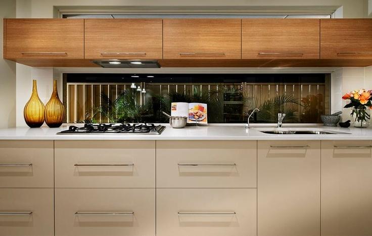 Kitchen splashback window window splashback pinterest for Adams cabinets perth