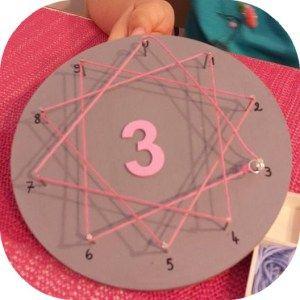 Mémoriser les tables de multiplication avec un matériel inspiré des pédagogies Montessori et Waldorf/Steiner