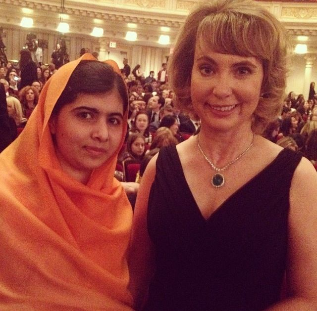 Malala Yousafzai and Gabrielle Giffords - two of the strongest women the world has ever known. Both survived being shot in the head and now they've become international heroes and role models: Malala is the leading face of the campaign for education for girls and women's rights in the Middle East; Gabrielle is one of the leaders pushing for gun control reform and stricter background checks.