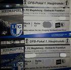 #Ticket  1. FC Magdeburg FCM  Eintracht Frankfurt DFB-Pokal 2 x Ticket Block 16 Reihe 17 #deutschland