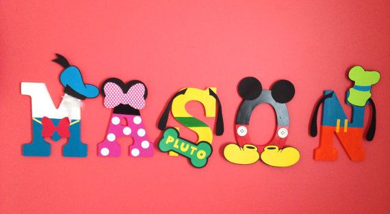 Disney Inspired Mickey Mouse Clubhouse Hand by OlgasFunShop