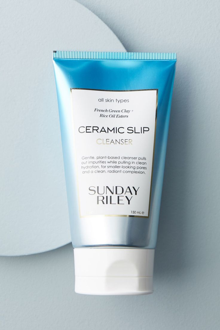 Sunday Riley Ceramic Slip Cleanser by in Beige Size: All, Bath & Body at Anthropologie