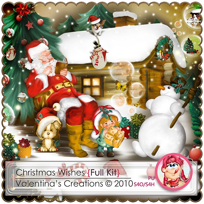 Christmas Wishes {Kit} by Valentina's Creations