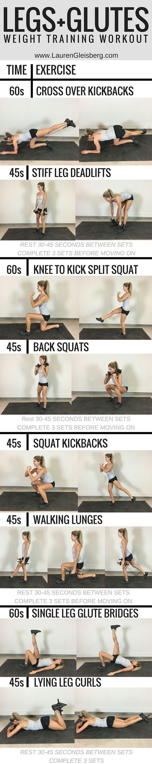 Best 25 Weight Training Routines Ideas On Pinterest