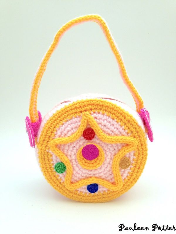 Sailor Moon Crystal Star Crochet Handbag
