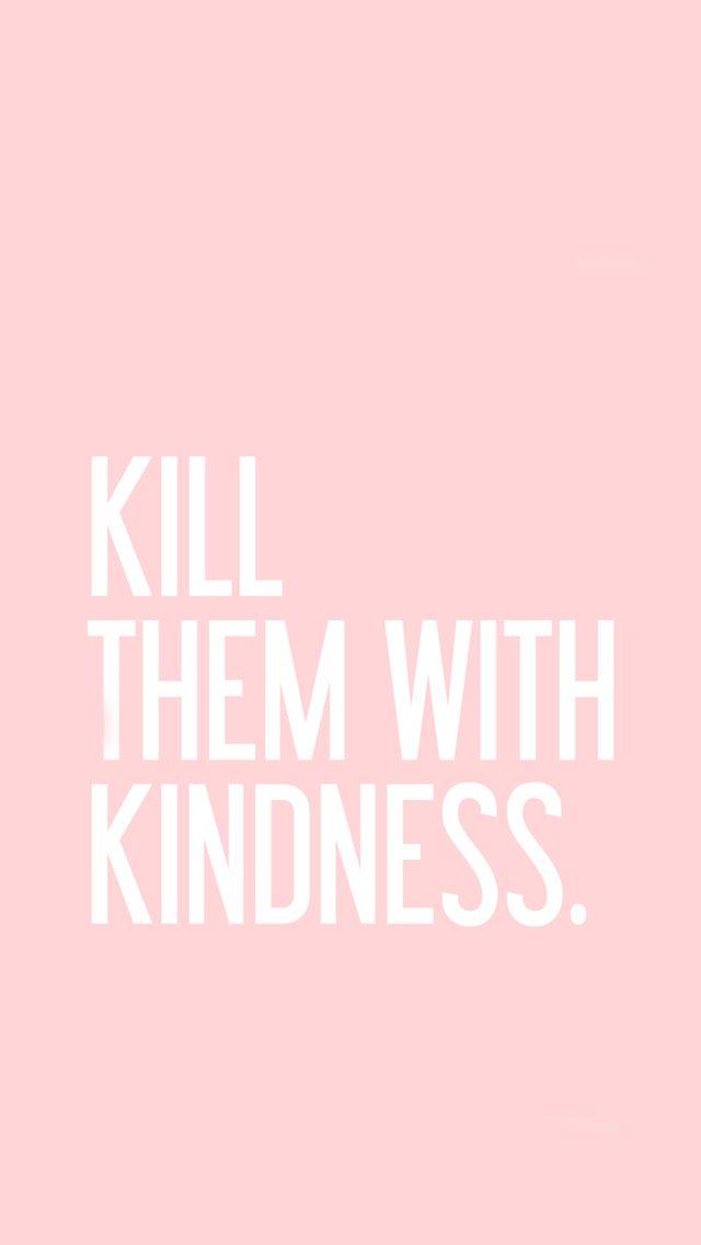Mata-los com bondade