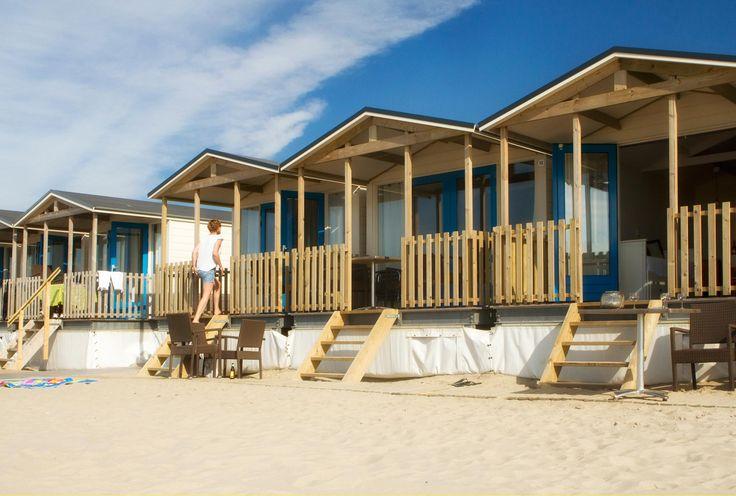 Strandhuisje Strandhäuser, Strandbungalows, Holland