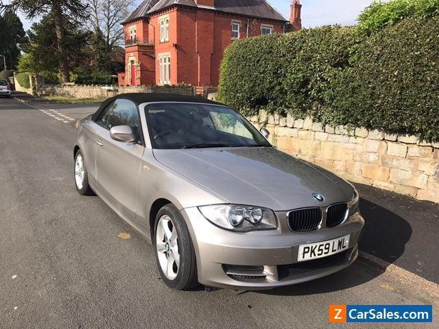 BMW 2dr 1 SERIES CONVERTIBLE 2.0 118d Sport 62400 Miles  #bmw #1series #forsale #unitedkingdom