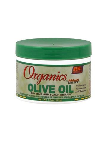 Le traitement à l'huile d'olive de Organics by Africa's Best est spécifiquement formulé pour lutter contre les cheveux et le cuir chevelu secs. Enrichi en vitamines, extraits de plantes et d'huiles organiques, cette formule thérapeutique naturelle pénètre et hydrate pour aider à réparer les cheveux abîmés tout en revitalisant le cuir chevelu irritant et sec. Excellent pour tous types de cheveux, y compris naturels, détendus, bouclés, texturés ou colorés.