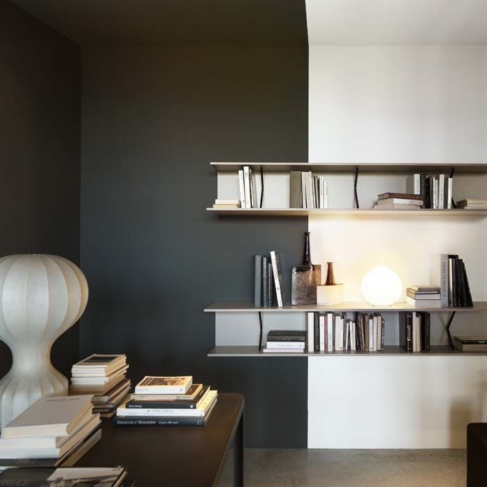 A Shelving System With Linear Panels, Used Individually Or As Boiserie To  Match Lemau0027s Systems