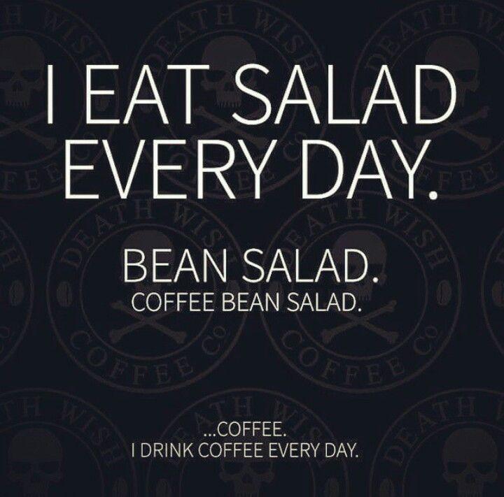 Well, I do! And salad.
