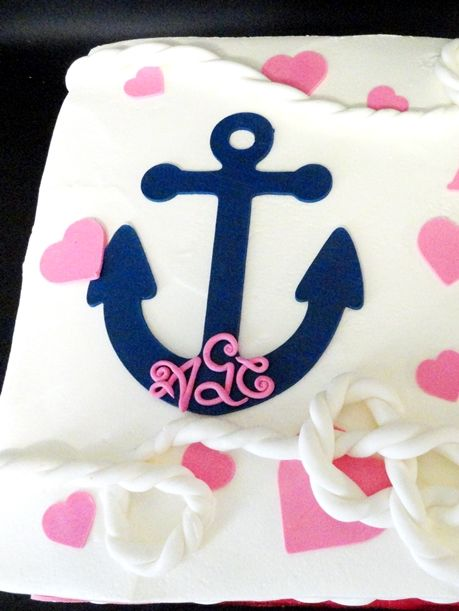 Sailor Cake For Baby Shower