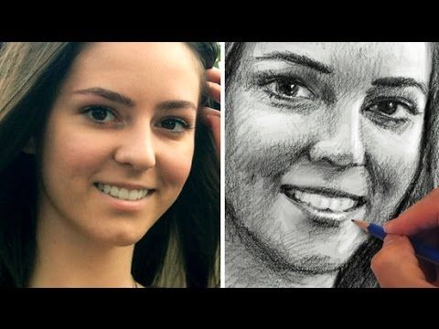 How to Draw a Face Accurately - Exercises to Improve Your Drawing - YouTube