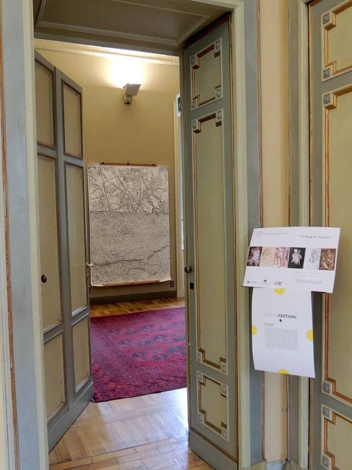 Immagine femminile - viaggio senza fine. Palazzo Bovara, Milano  https://www.instagram.com/p/BFB0GwrP4l2/