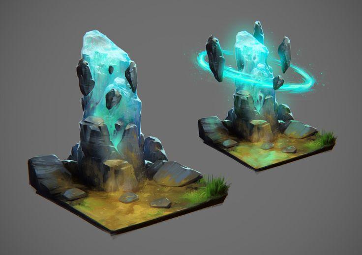 ArtStation - Wiscanium Stone, Dario Coelho