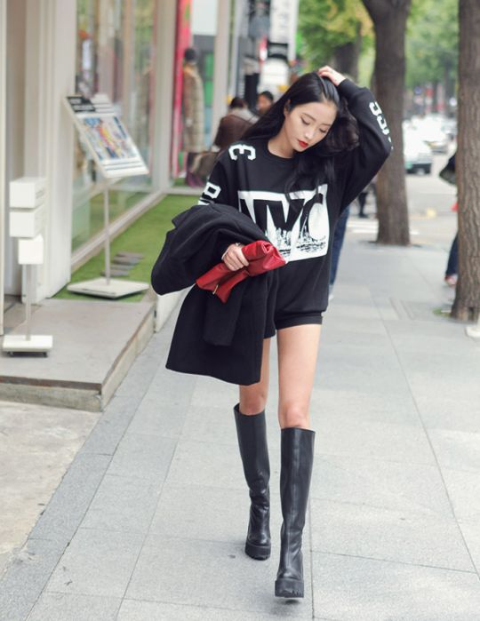 Ulzzang Fashion Casual