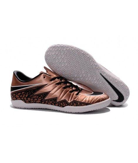 Nike Hypervenom Phelon II IC SÁLOVÁ Muži Kopačky Zlato Černá Bílá