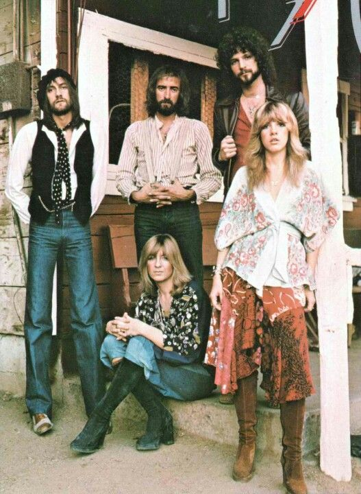 but Stevie Nicks used to dress really cool before she went to all black - gotta love boho-chic