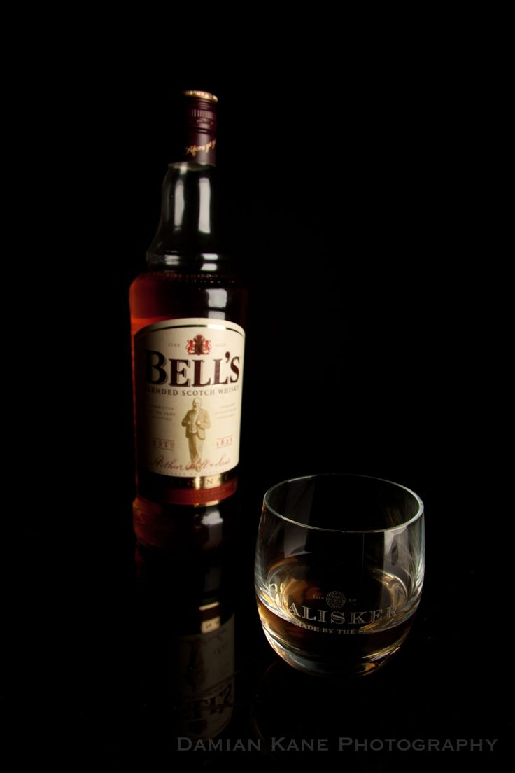 Bell's Whisky - Bells Whiskey. I only had a Talisker glass so thats why the don't match.
