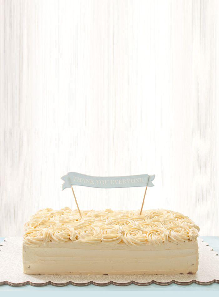 Fudge Cake with Swiss Meringue Buttercream