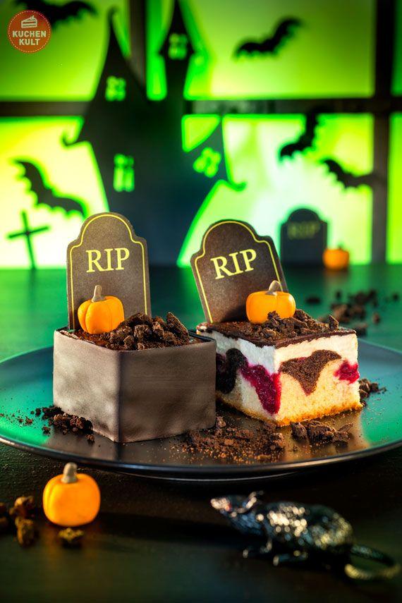 Halloween Kuchen Grabstein RIP