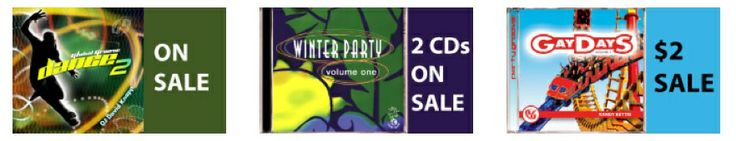 TUESDAY IS NOW $2 TUESDAYS!!!  ON SALE THIS WEEK: GLOBAL GROOVE DANCE 2 | WINTER PARTY 1998 | GAY DAYS VOL. 3  Dance compilations mixed by DJs David Knapp. Julian Marsh & Randy Bettis  Click here: http://theoutclub.com/Home/Index.rails
