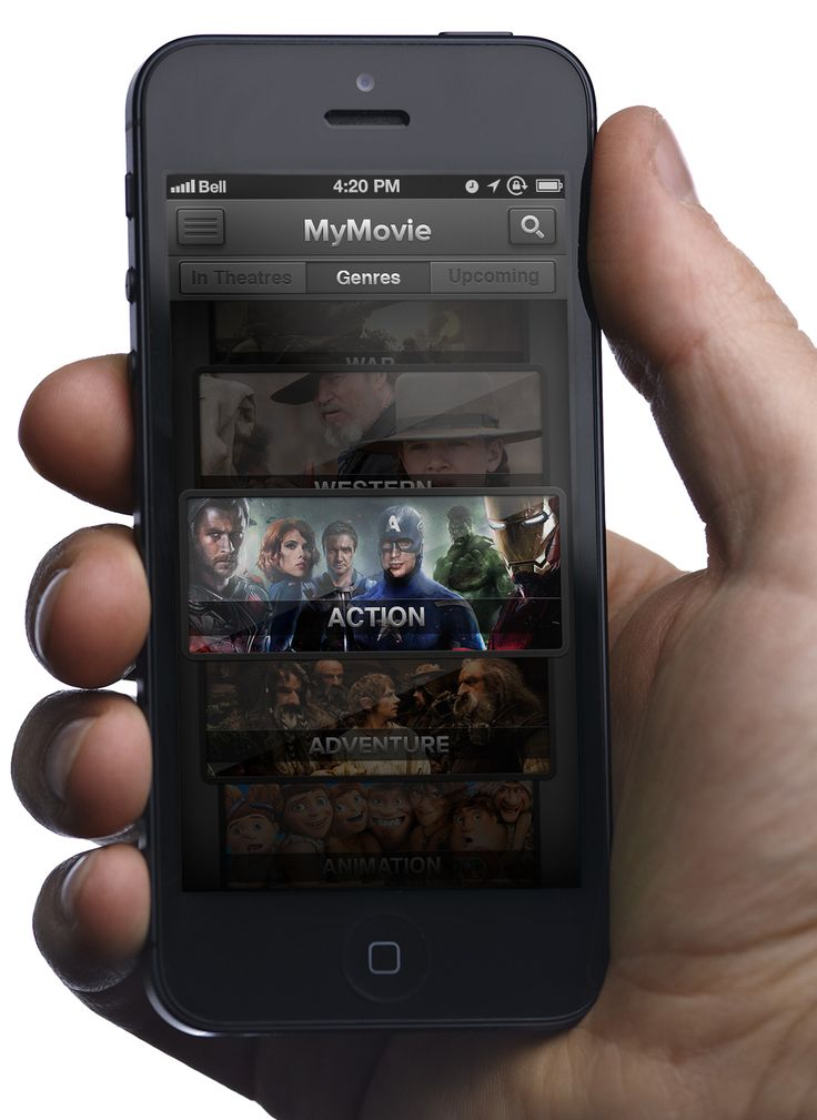 MyMovie - UI Design - Part 1