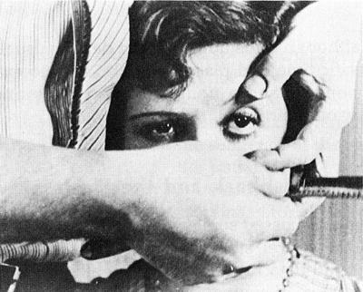 Un Chien Andalou (1929 silent short surrealist film by director Luis Buñuel and artist Salvador Dalí)