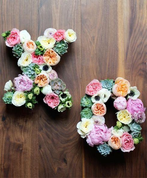 Initiales florales