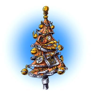 112 best Steampunk Ornaments and Xmas images on Pinterest ...