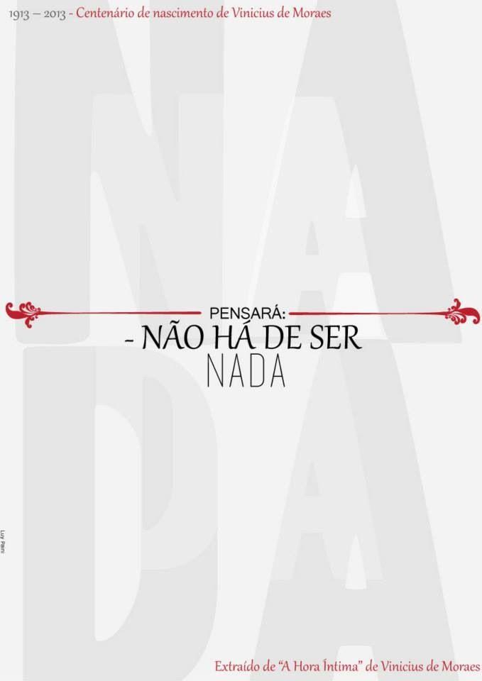 """Arte: Luyane Paini - sobre """"a hora íntima"""" de Vinicius de Moraes"""