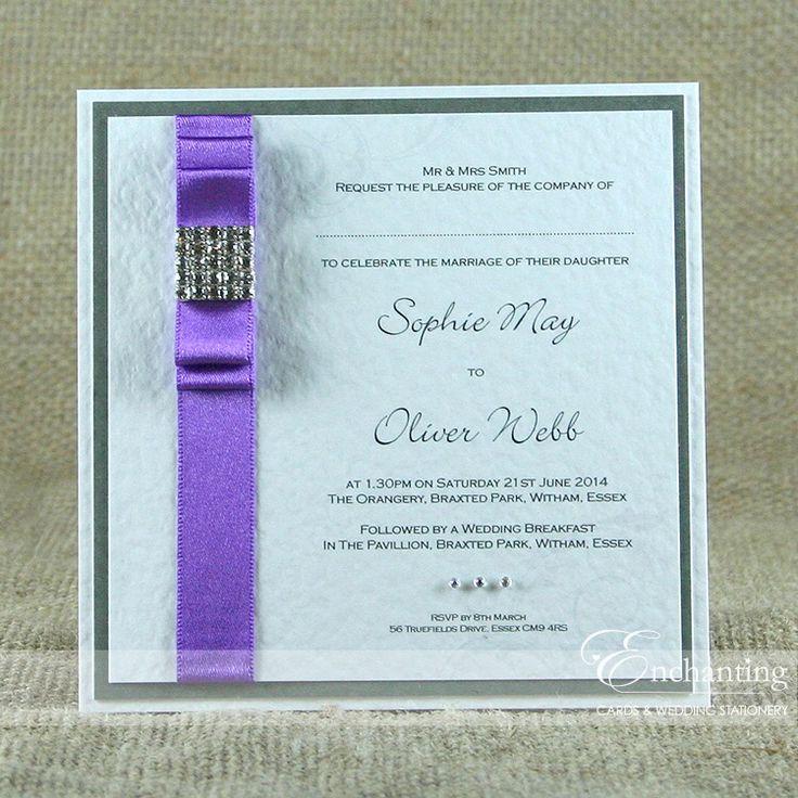95 best Colour Schemes - Purple images on Pinterest | Diy wedding ...