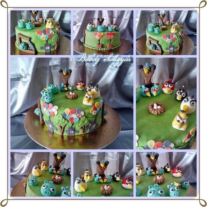 Angry birds cake https://www.facebook.com/BubajSutigyar