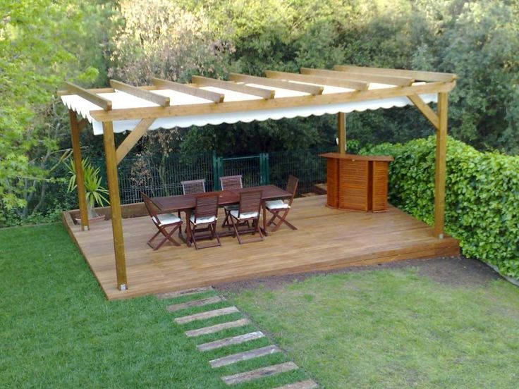 Resultado de imagen para pergolas de madera y - Pergolas de madera para terrazas ...