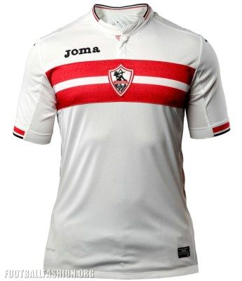 Zamalek SC 2017 Joma Home Football Kit, Soccer Shirt, Jerseya