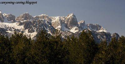 Mt Timfi, north Pindus, Greece