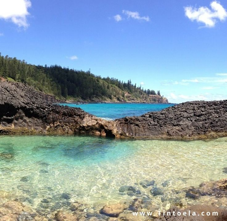 Look at the gorgeous beaches on Norfolk Island!