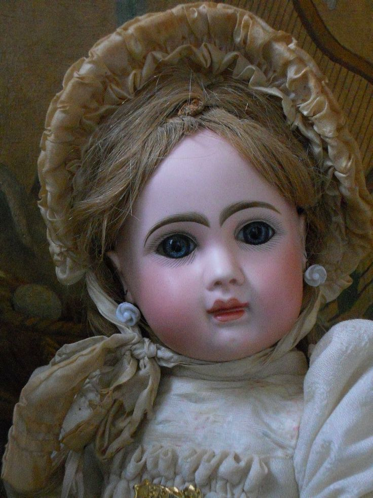 Very Beautiful French Bisque Bebe Steiner Girl Dolls