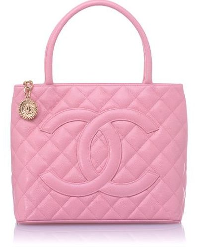 Chanel ~ Pink Quilted Tote